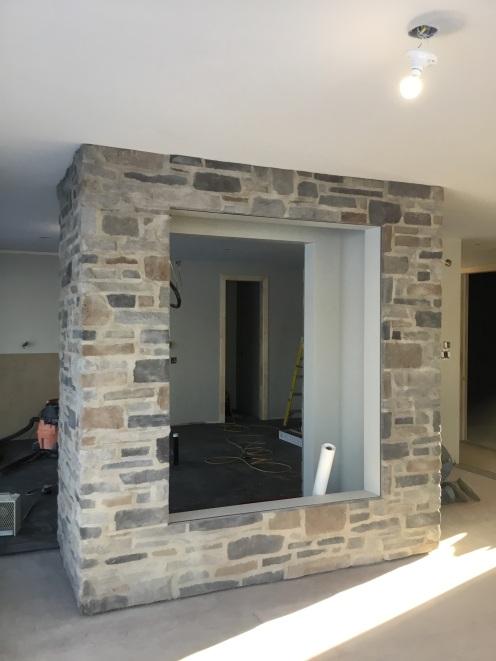 Mur de pierres naturelles intérieur